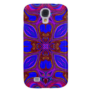 Colorful Abstract Wave Galaxy S4 Case