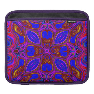 Colorful Abstract Wave iPad Sleeve