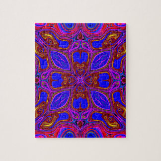Colorful Abstract Wave Jigsaw Puzzle