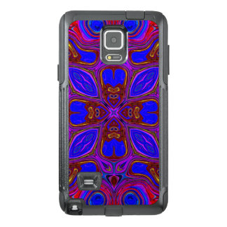Colorful Abstract Wave OtterBox Samsung Note 4 Case