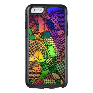 Colorful Abstract with Textures & Patterns OtterBox iPhone 6/6s Case