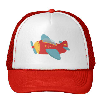 Colorful & Adorable Cartoon Aeroplane Cap