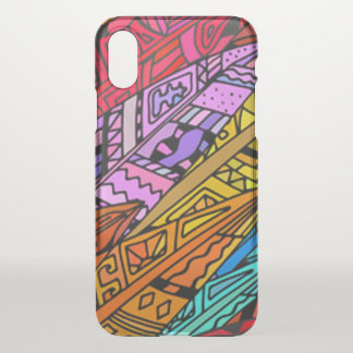 Colorful African Design iPhone X Case