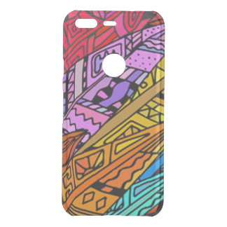 Colorful African Design Uncommon Google Pixel Case