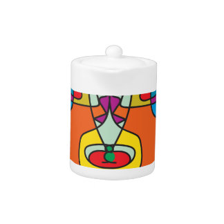 colorful african faces design