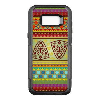 Colorful African Masks Stripe Kente Pattern OtterBox Commuter Samsung Galaxy S8+ Case