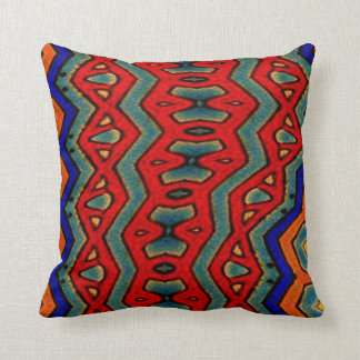 Colorful African Print Cushion