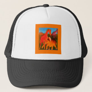 Colorful  African wild animal safari colors Trucker Hat