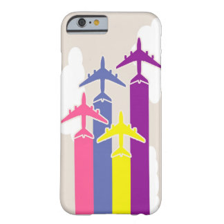 Colorful airplanes barely there iPhone 6 case