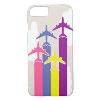 Colorful airplanes iPhone 7 case