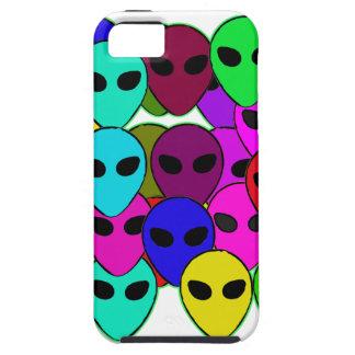 Colorful Aliens iPhone 5 Case