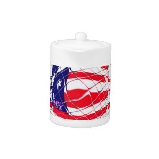 Colorful American Flag Colors Hillary for USA Pres