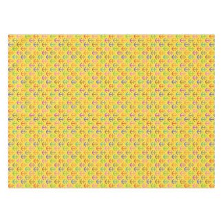 Colorful Anchor Pattern Retro Nautical Tablecloth
