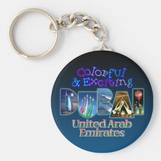 Colorful and Exciting Dubai Key Ring