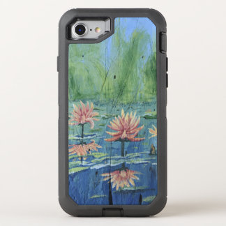 Colorful and Exciting Peach Lilies iPhone 8/7 Case