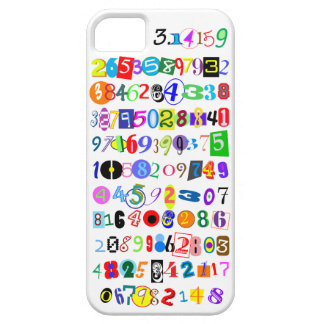 Colorful and Fun Depiction of Pi Calculated Case For The iPhone 5