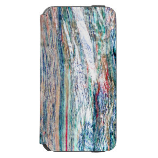 Colorful and Shiny Marble Texture Incipio Watson™ iPhone 6 Wallet Case