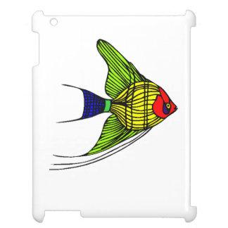 Colorful Angel Fish iPad Case