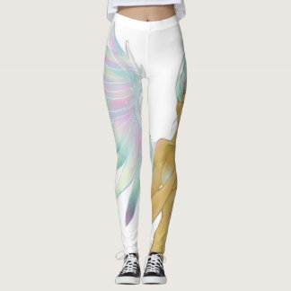 Colorful Angel leggings. Leggings