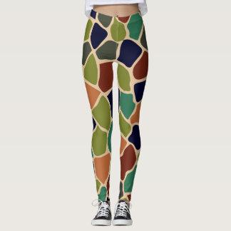 Colorful Animal Print Pattern Leggings