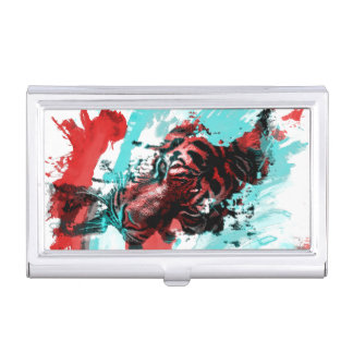 Colorful Animal Tiger Business Card Cases