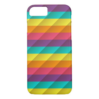 Colorful Apple iPhone 7, Barely There Phone Case