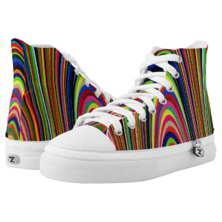 Colorful Arches Printed Shoes