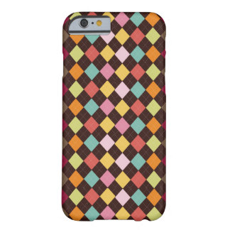 Colorful argyle (diamond) patteru barely there iPhone 6 case