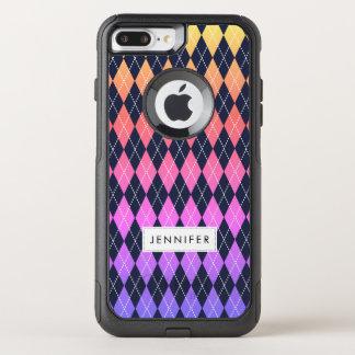 Colorful Argyle Pattern iPhone 8 Plus/7 Plus Case