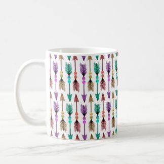 Colorful Arrows Bohemian Mug
