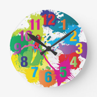Colorful Art Clock