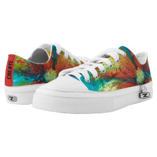Colorful Art Shoes Printed Shoes