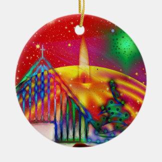 Colorful artistic Christmas illustration Christmas Ornaments