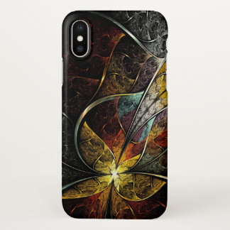 Colorful Artistic Fractal Zazzle iPhone X Case