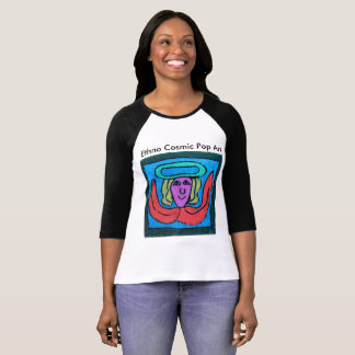 colorful artistic sports t-shirt
