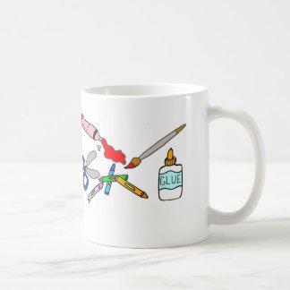 Colorful Arts and Crafts Supplies Mug