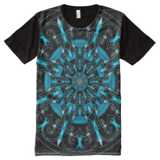 Colorful Astral Indie Art Mandala All-Over Print T-Shirt