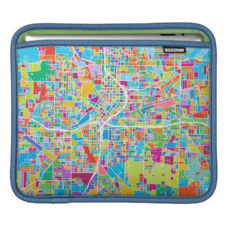 Colorful Atlanta Map iPad Sleeve