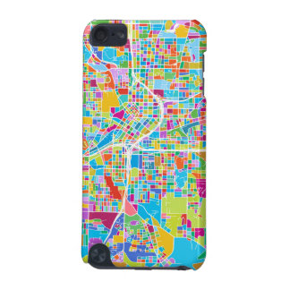 Colorful Atlanta Map iPod Touch (5th Generation) Cover