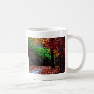 Colorful Autumn Day Mugs