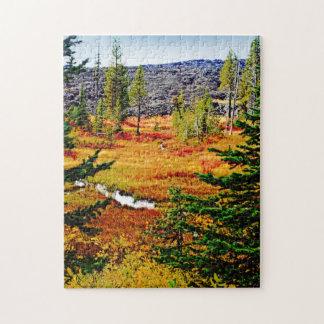 Colorful Autumn Landscape Jigsaw Puzzle