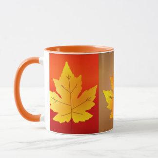 Colorful Autumn Leaves Mug