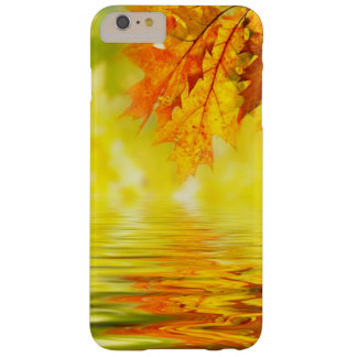 Colorful autumn leaves reflecting in the water barely there iPhone 6 plus case