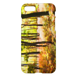 Colorful Autumn Woods Illustration iPhone 7 Case