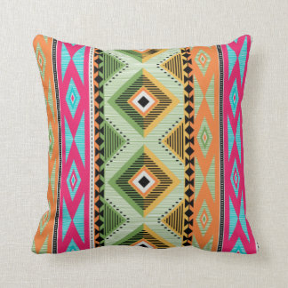 Colorful Aztec Pattern Cushion