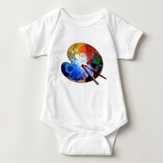 colorful baby bodysuit