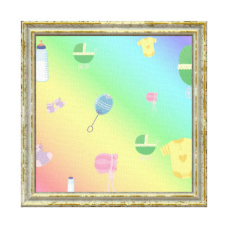 Colorful Baby Toys Canvas Print