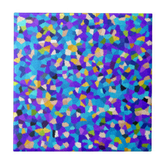 Colorful background ceramic tile