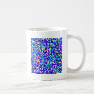 Colorful background coffee mug