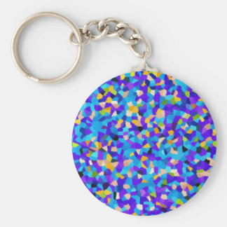 Colorful background key ring